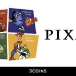 3COINSからピクサーのキャラクターをデザインした限定アイテム発売